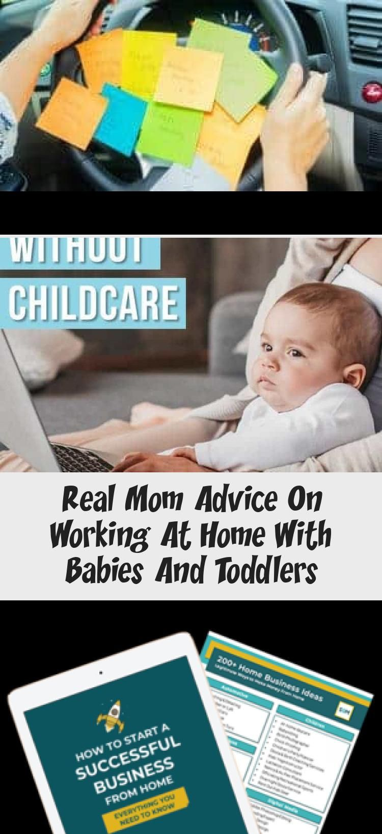 Real Mom Advice On Working At Home With Babies And Toddlers