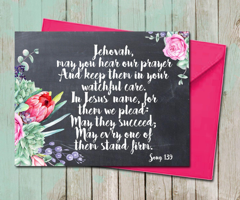 floral succulent encouragement sympathy greeting card
