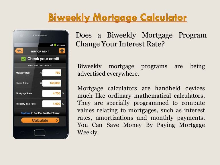 Best  Biweekly Mortgage Ideas On   Bi Weekly Loan