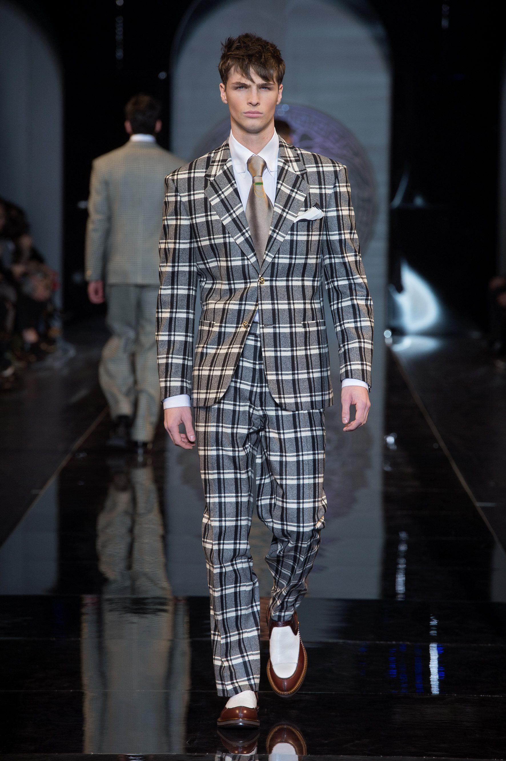 Versace Men 2015 Spring Summer: #Suit - Versace Men's Fall Winter 2013