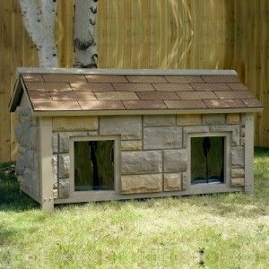 How To Build A Two Room Dog House Dog House Diy Luxury Dog House Insulated Dog House