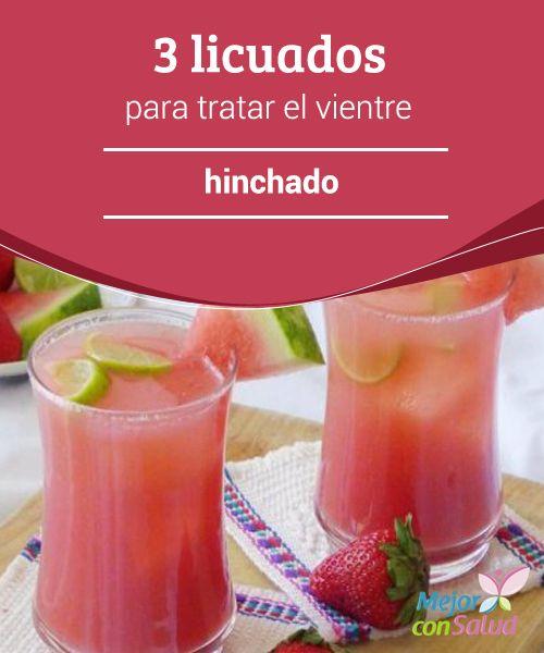 Bebidas para adelgazar estomago hinchado
