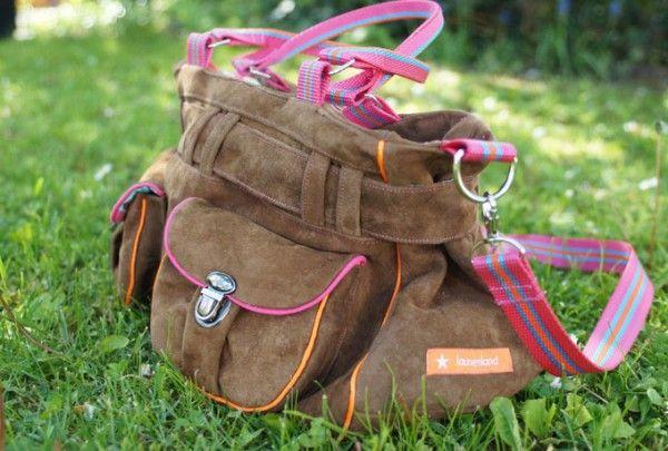 Ledertasche. Schnittmuster Tamira | sewing ideas | Pinterest ...