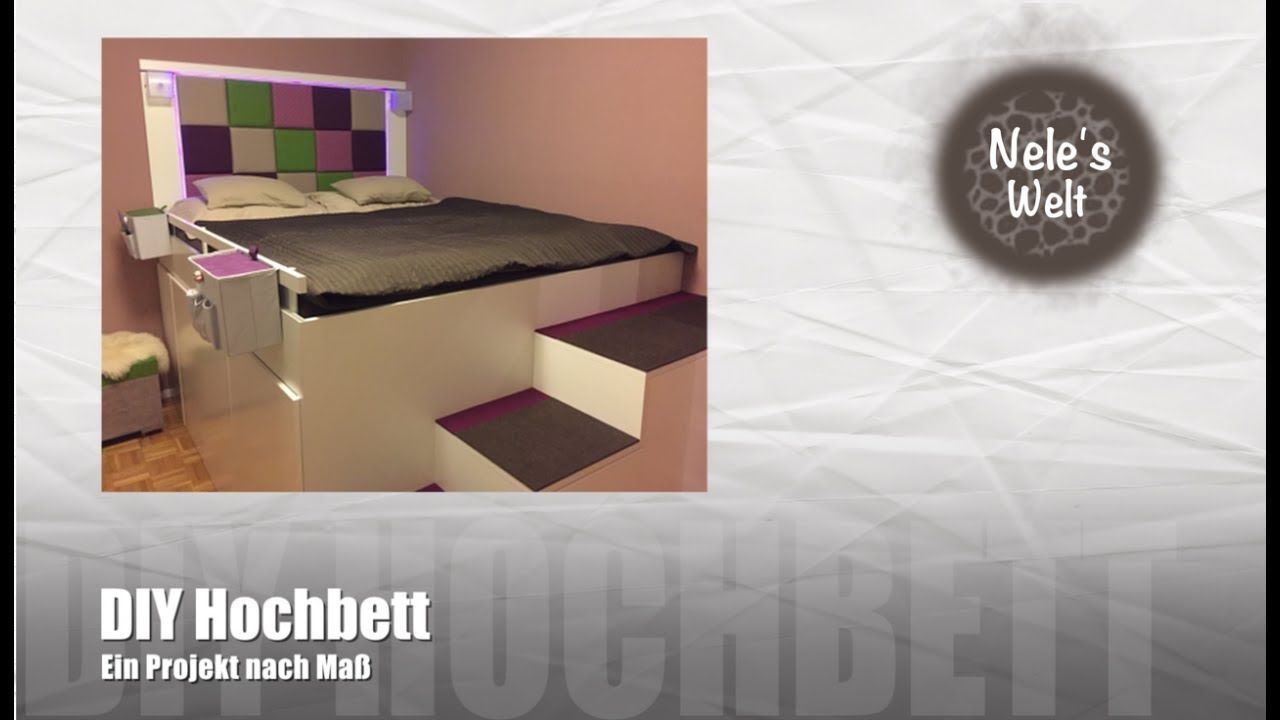 Hochbett Selber Bauen, DIY Bett