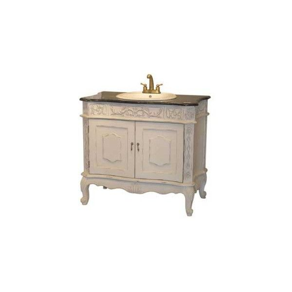 FRENCH STYLE MARBLE TOP WHITE SINK UNIT | White sink, Sink ...