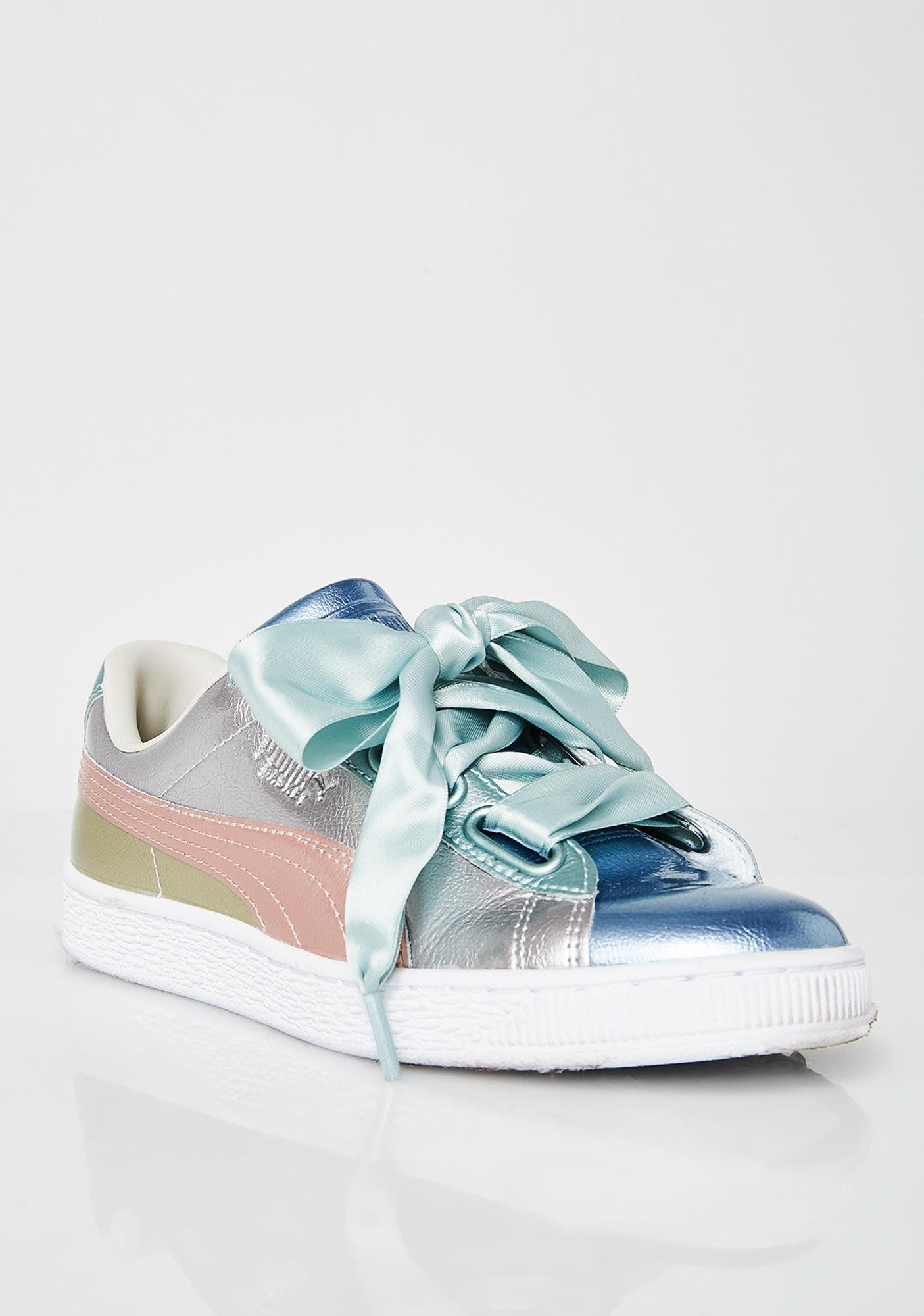 big sale 4b294 b6a46 Basket Heart Bauble Sneakers | PUMA Shoes | Puma basket ...