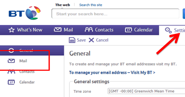 Easy Tips To Customize Bt Mail Settings Bt Mail Is One Of The