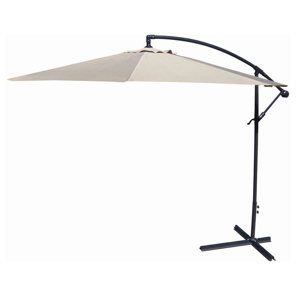 Jordan Manufacturing Steel 10 Foot Offset Umbrella   Overstock™ Shopping    Big Discounts On Jordan Manufacturing Patio Umbrellas
