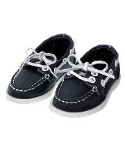 Leather Boat Shoe | Baby boy shoes, Boy