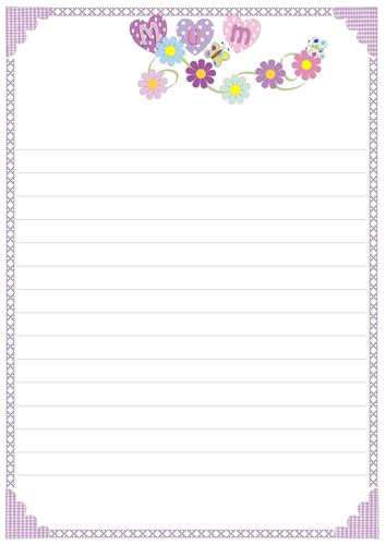 free printable elegant stationery templates