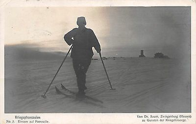 WWI, Ski Patrouille