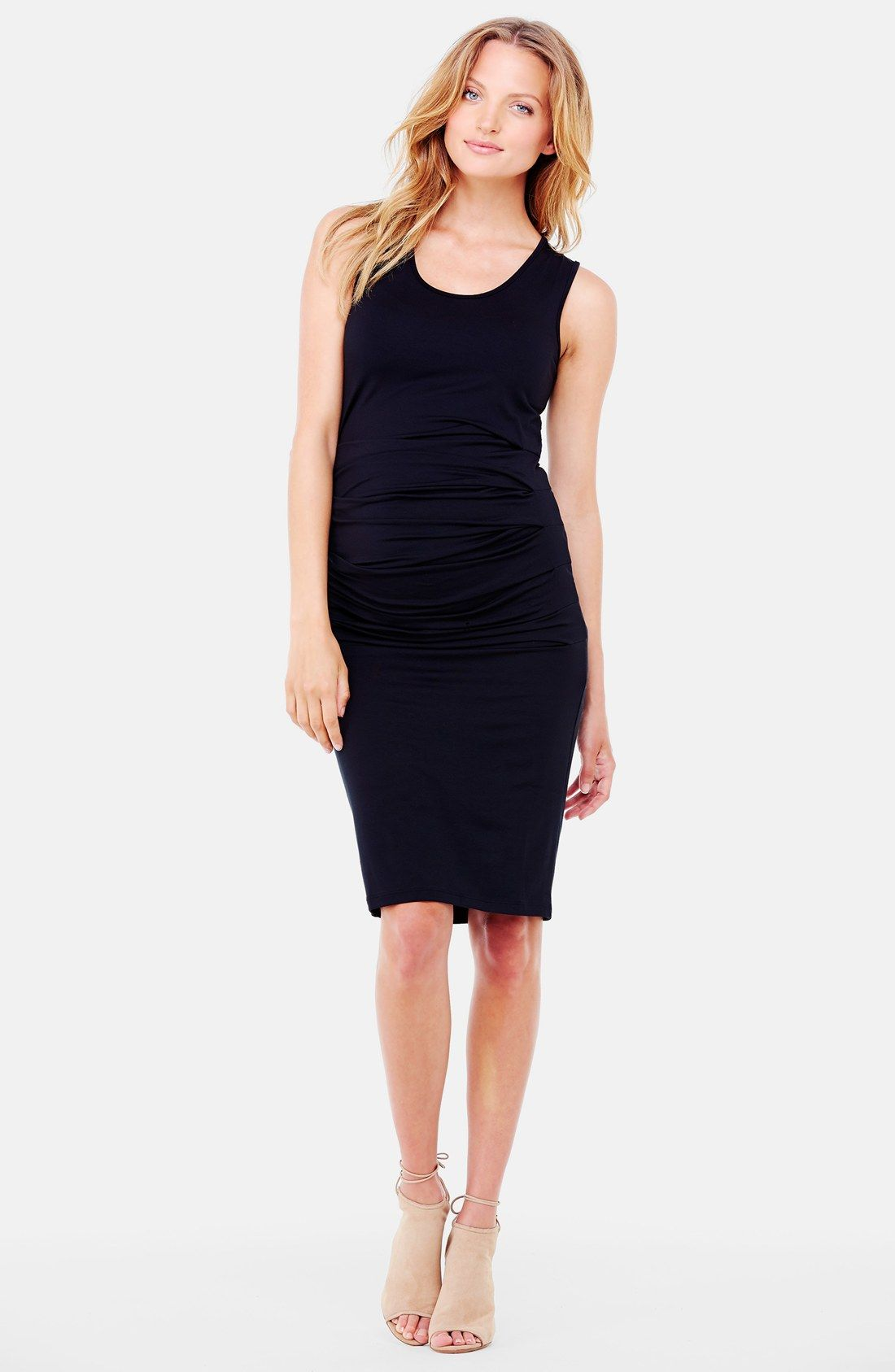 8c278d92998 ASOS Maternity Bodycon Dress With Halter Neck And Keyhole