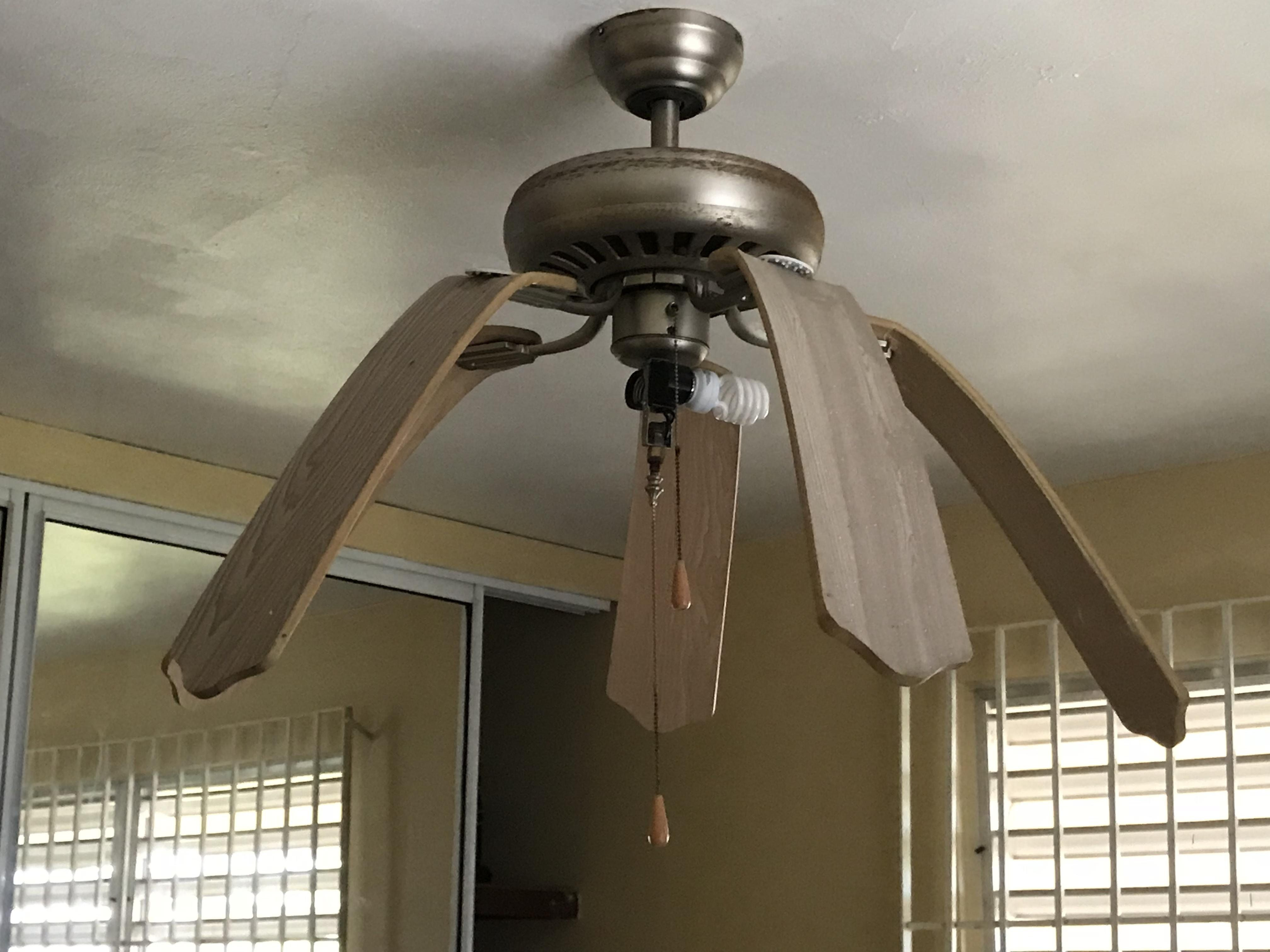 This Ceiling Fan In Puerto Rico Got So Hot It