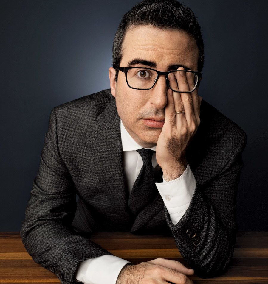 john oliver Samantha bee or john oliver may do biting, amusing segments on trump or  syria—but fans shouldn't overstate their real-life influence.
