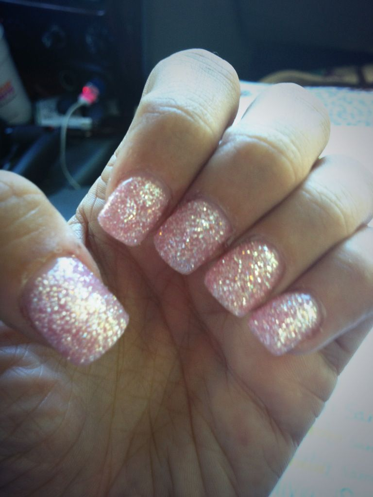 Pink diamond gel polish - gel polish | Pinterest