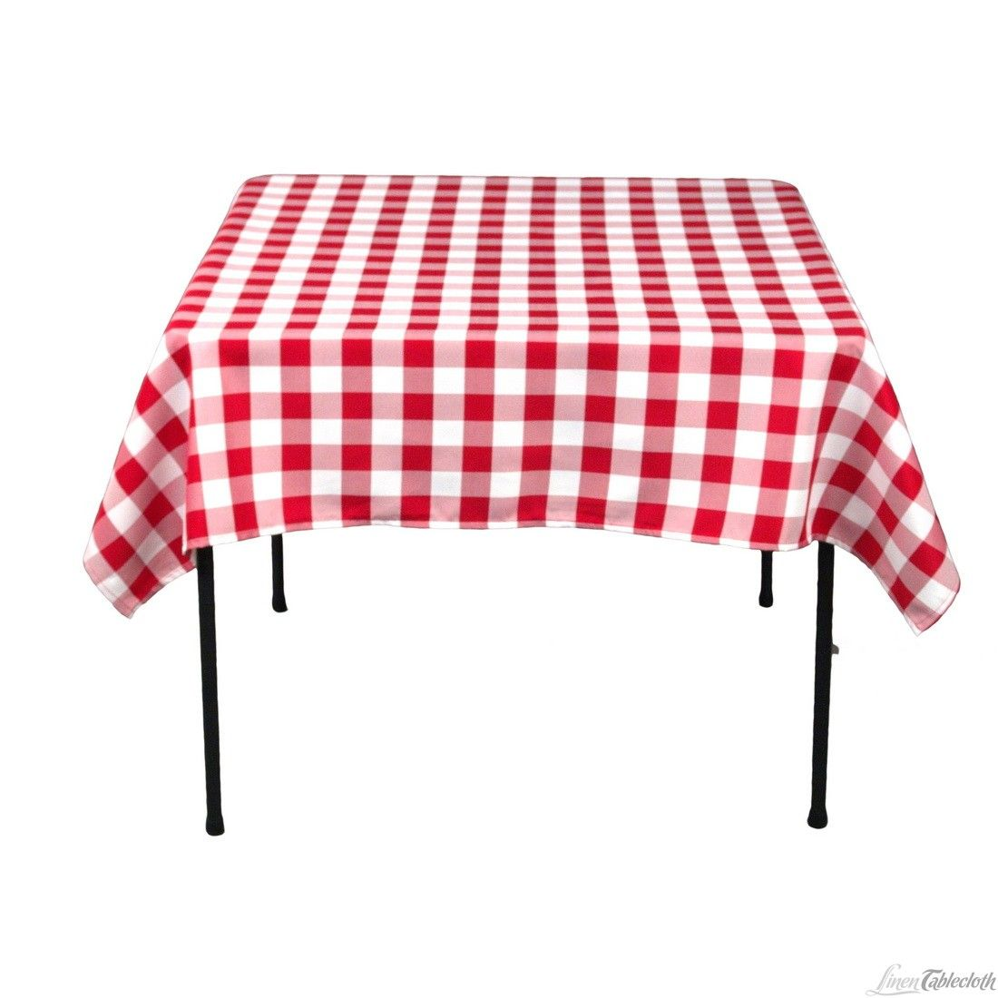 Charmant Buy 70 Inch Square, Red U0026 White Checkered, Polyester Tablecloths. These  Table Linens