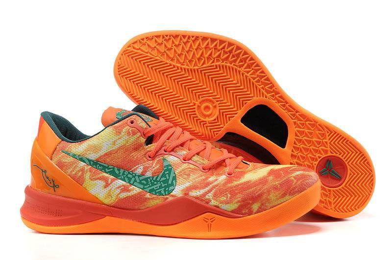 the latest b2aef 6ef5c Nike Kobe VIII (8) Fire Flame Shoes