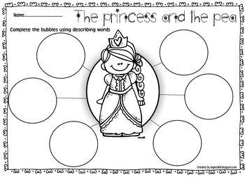 The Princess and the Pea This print & go book companion