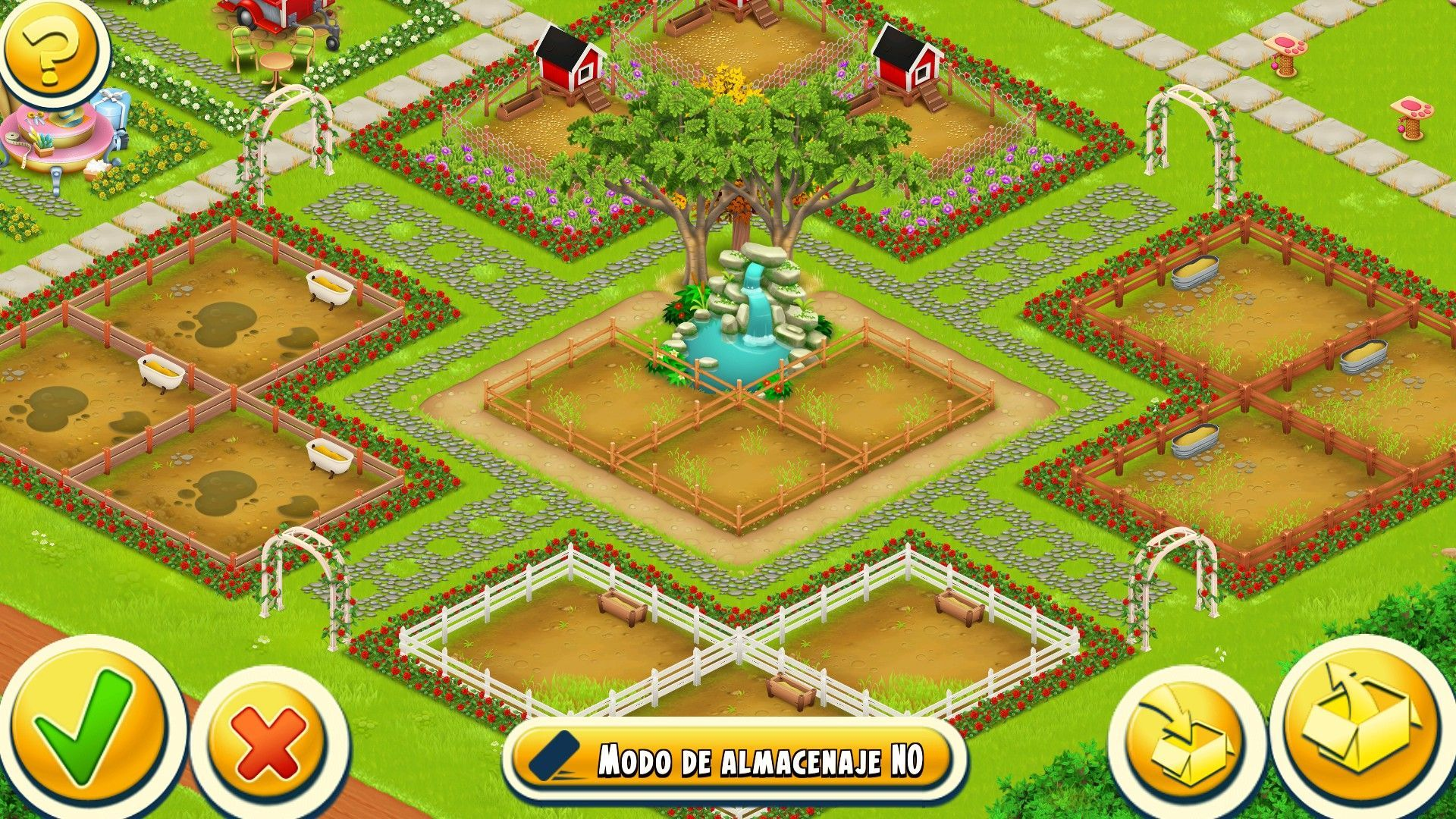 Kewan in 2020 Hayday farm design, Farm design, Hay day