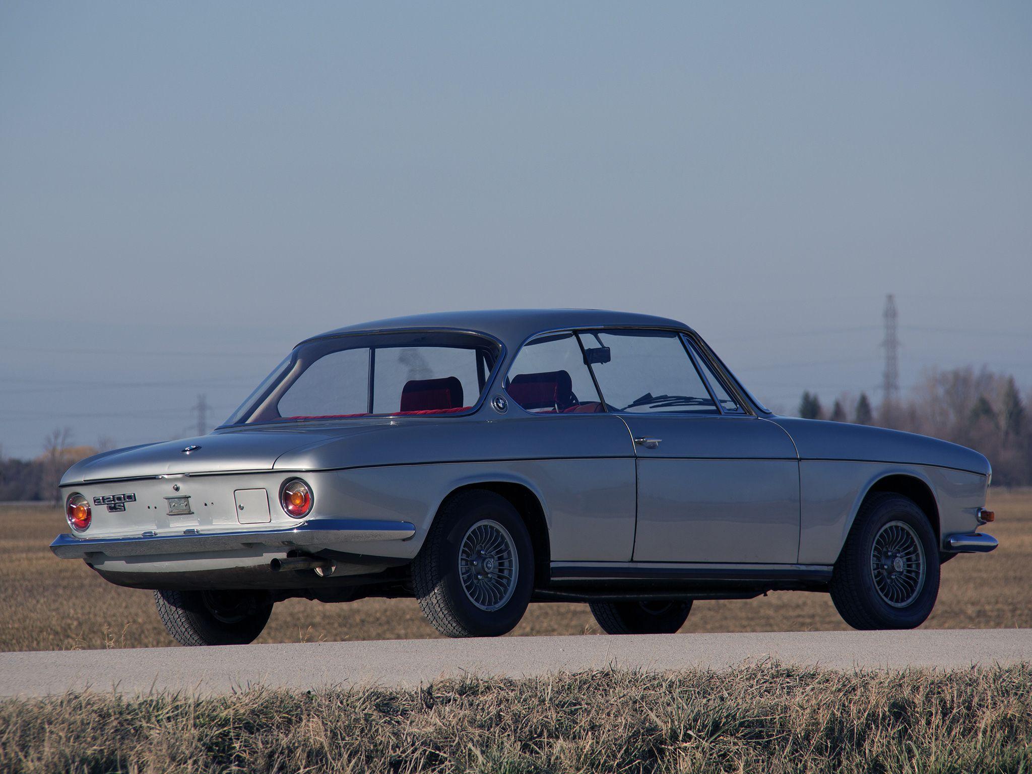 1962–65 BMW 3200 CS Coupe | Mentalität | Pinterest | BMW and Wheels