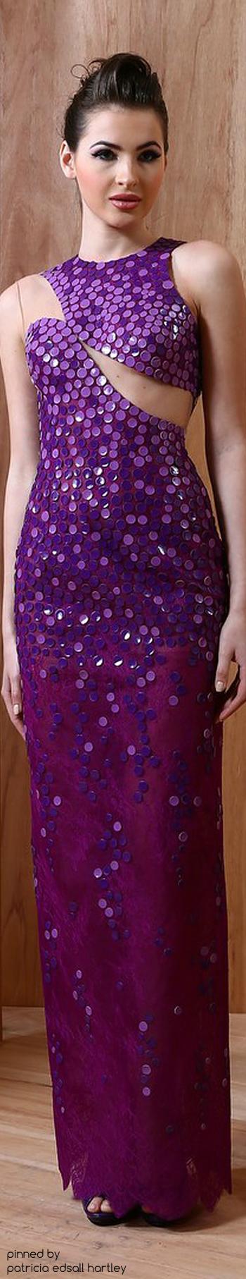 Purple Antonios Couture - SS 2015 | Dresses | Pinterest | Lilas ...