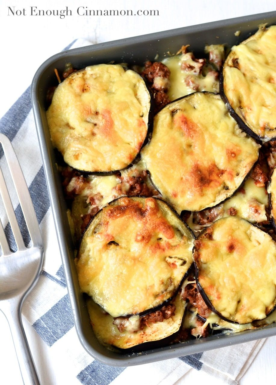 Eggplant Casserole With Ground Beef Not Enough Cinnamon Recipe Ground Beef Casserole Recipes Ground Beef Recipes