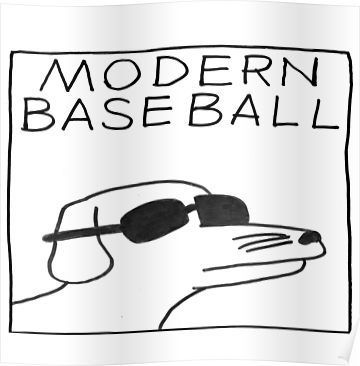 Modern Baseball Dog Poster By Blakezr In 2020 Emo Tattoos Anime Wall Art Dog Poster