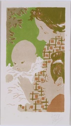 Pierre Bonnard, Family, c.1893, lithography, National Gallery of Canada, Ottawa, Canada