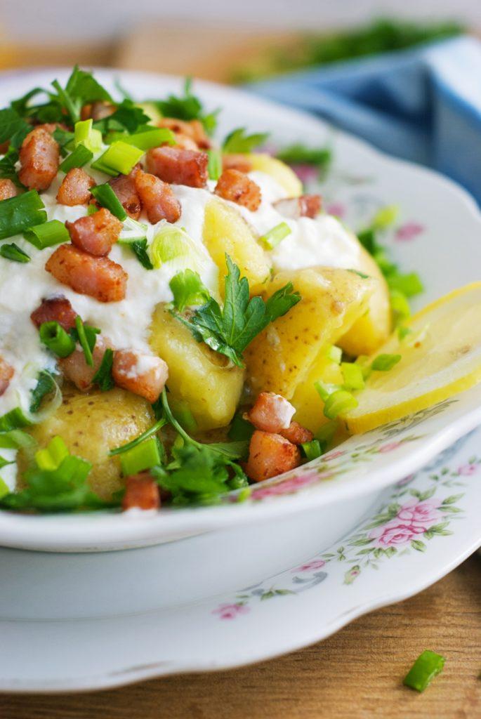 Potato Salad With Greek Yogurt And Dijon Mustard