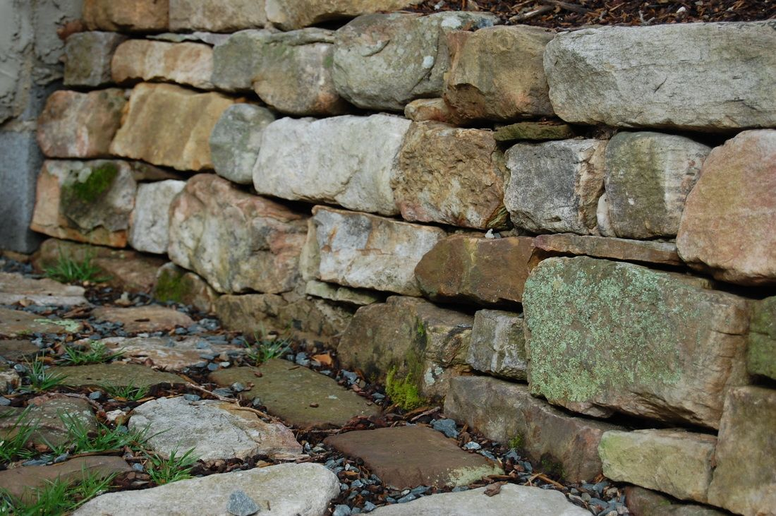 Wall Natural Stone : Have you ever wanted a stone retaining wall to replace