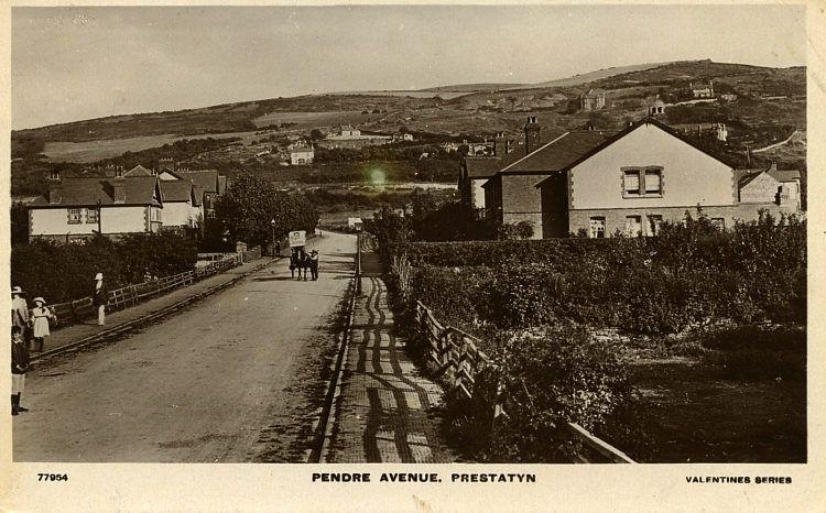 Prestatyn Yesteryear Postcard Wales Picture Postcards