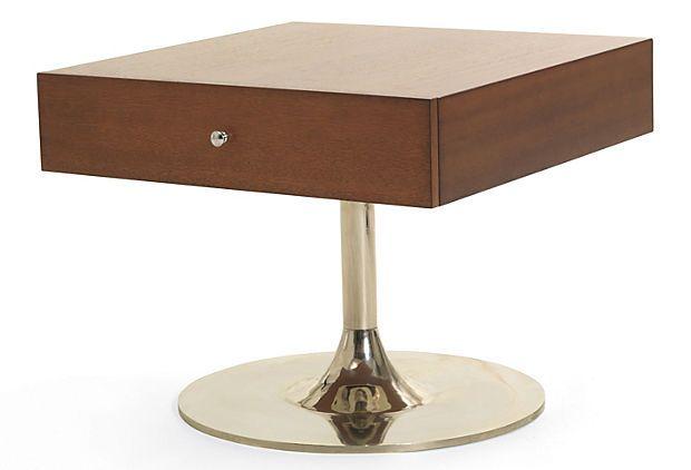 Fabu No Dust Bunnies Under This Side Table Onekingslane