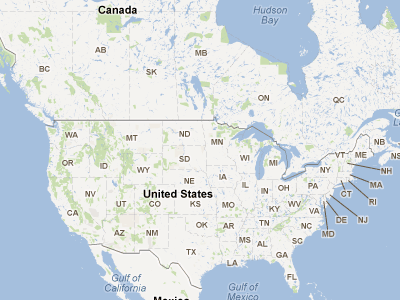 Free Campsites Interactive Map For Free Camping Sites In USA