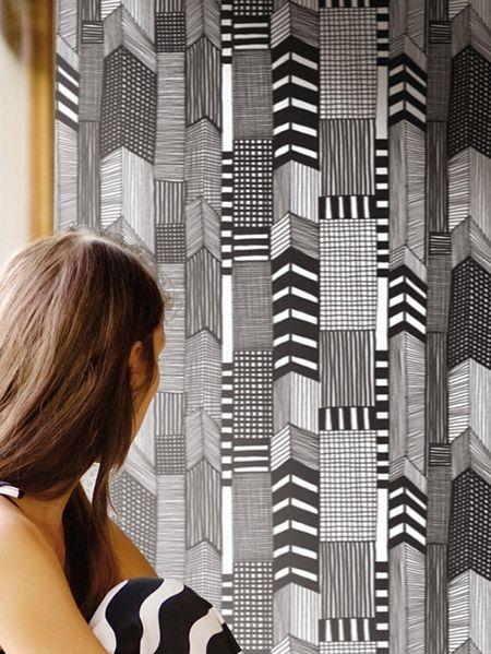 Marimekko Tapete Muster Home Wallpaper Marimekko Decor