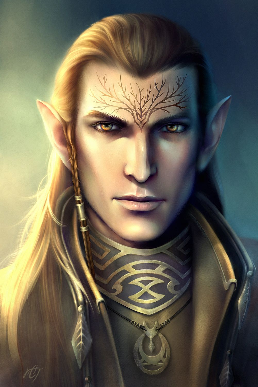 Dalish Keeper Elf Art Elves Fantasy Fantasy Portraits