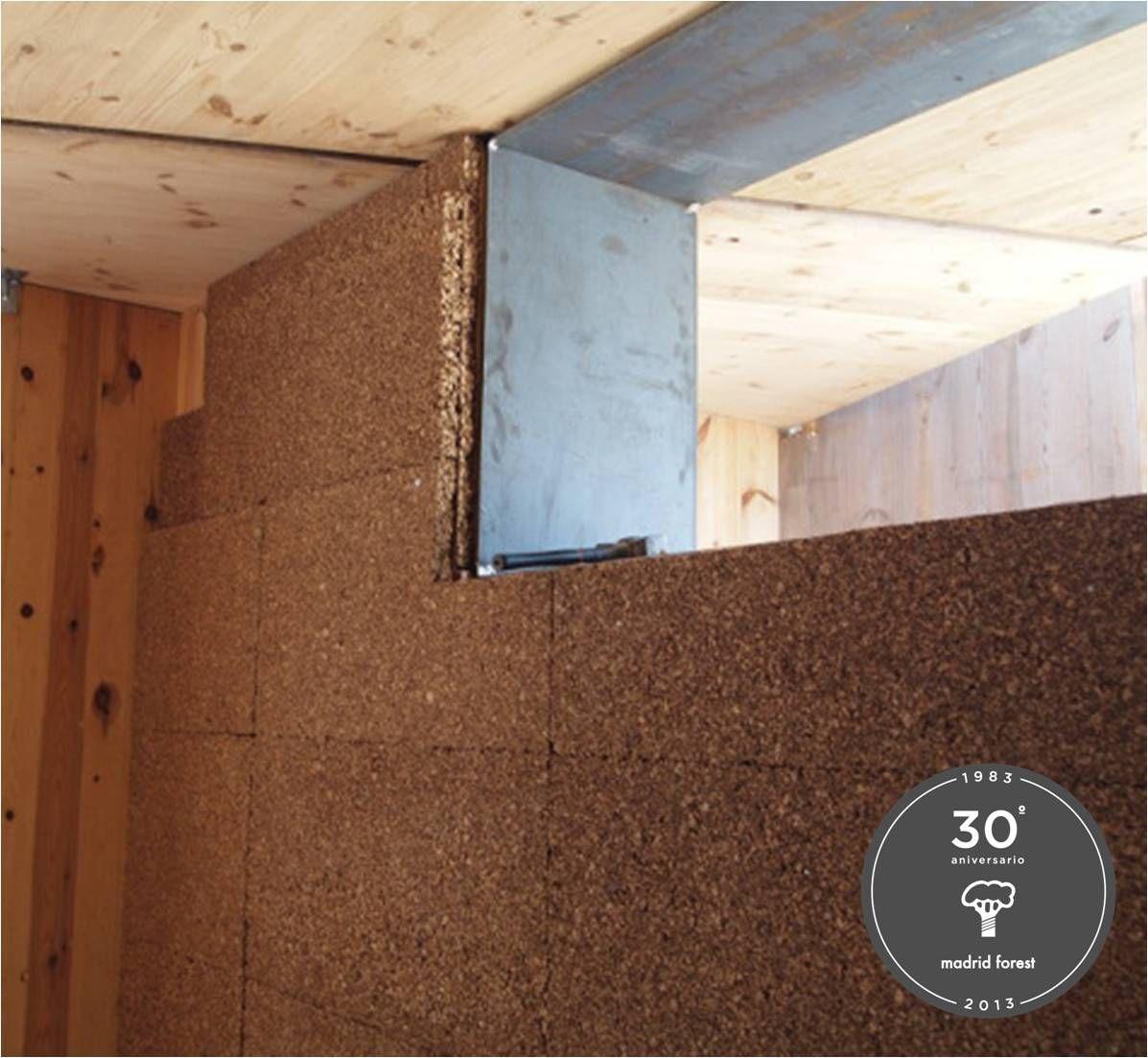 #aislamiento #térmico #paredes #corchonegro #madridforest