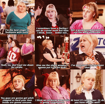 Fat Amy Quotes I Love Her Humor Fat Amy Pitch Perfect Funny