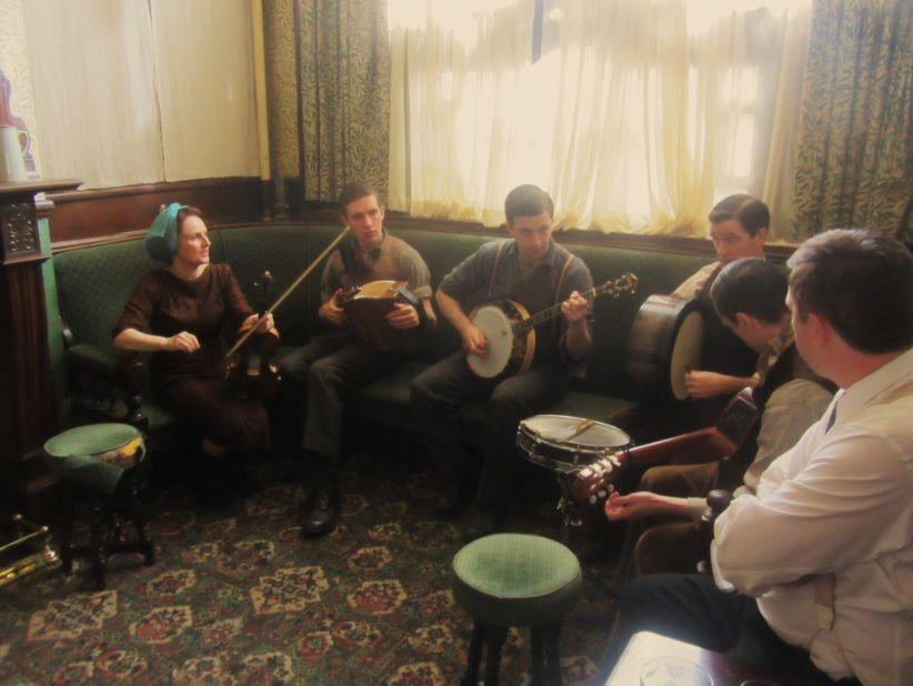 So NOBLE has it's own Irish Trad band.