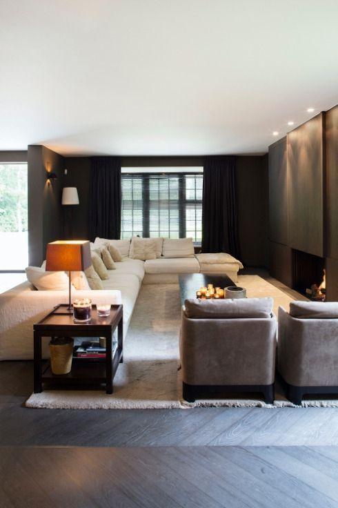 Op een heel rustige en mooie locatie gelegen top-villa - Woonkamer ...