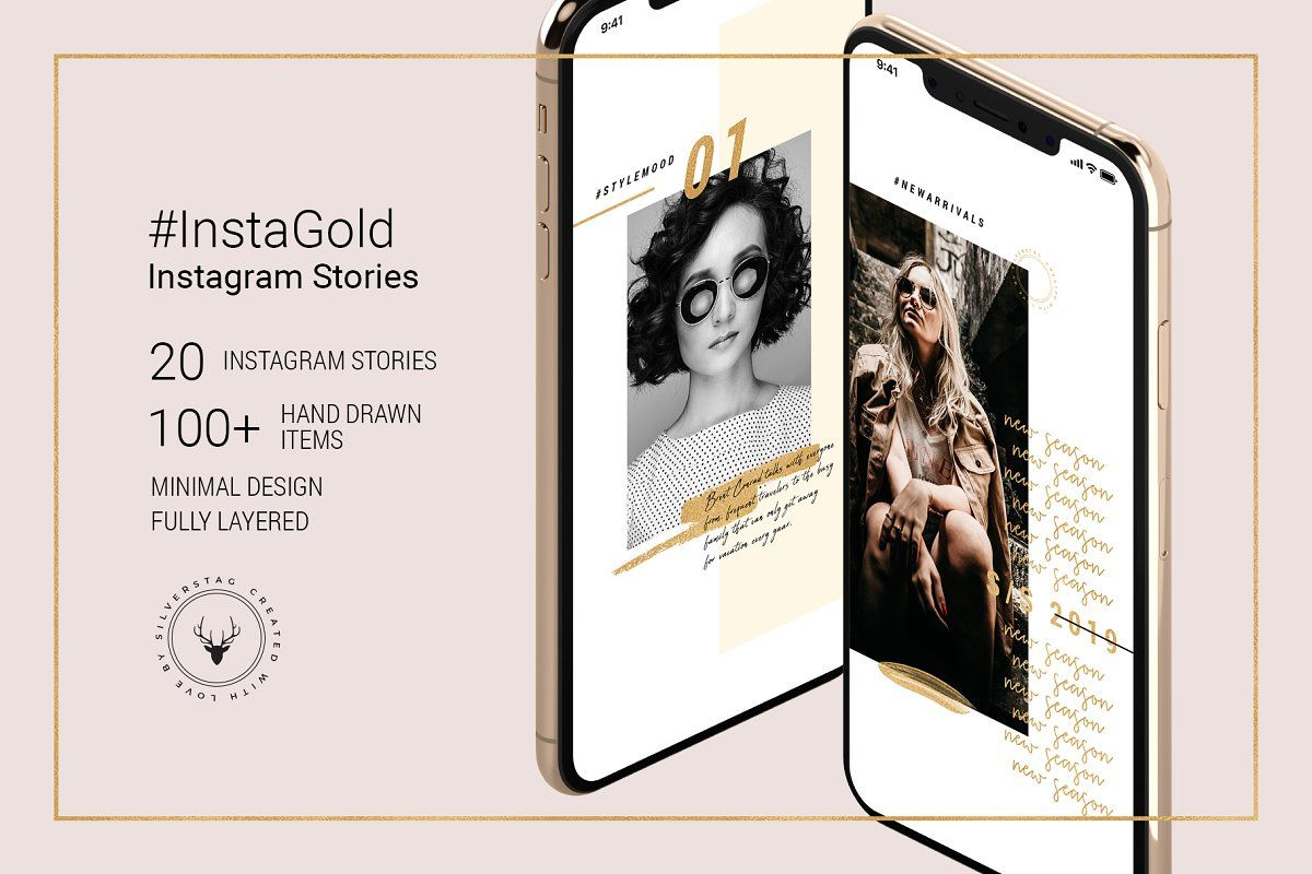 InstaGold Animated Instagram Stories Instagram story