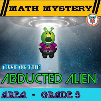 5th Grade Area Math Mystery, Area of rectangles, missing sides, cost ...