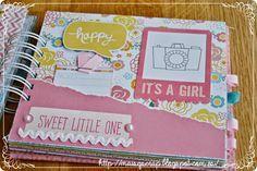 MiniÁlbum de bebé   Reto FSN rosa