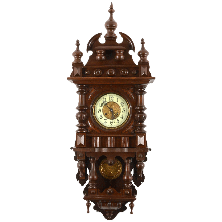 Clocks Solvang Antiques Victorian Wall Clocks Black Wall Clock Clock