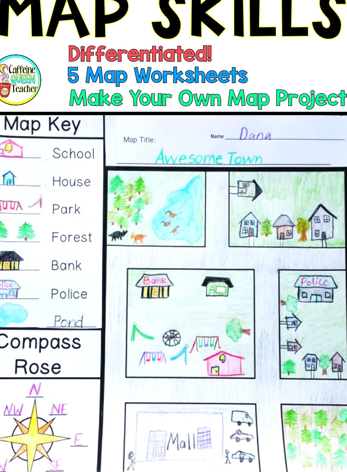 This Make Your Own Map Project Provides Students With A