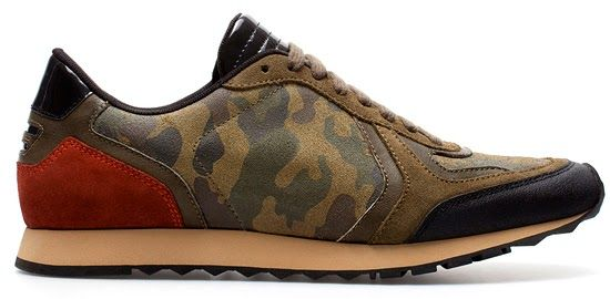 Fall Winter 2013 Camouflage Sneakers