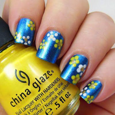 Dot Flower Nail Art Make Me Pretty Pinterest Dotting Tool