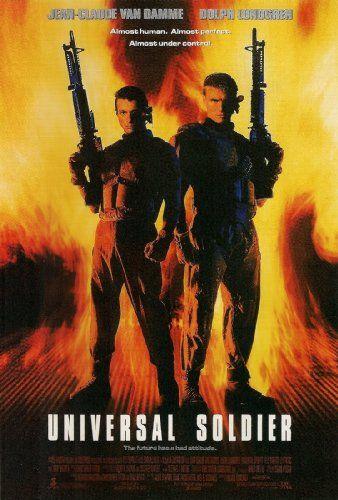 Universal Soldier 1992 Van Damme Film Posters Art Jean Claude Van Damme