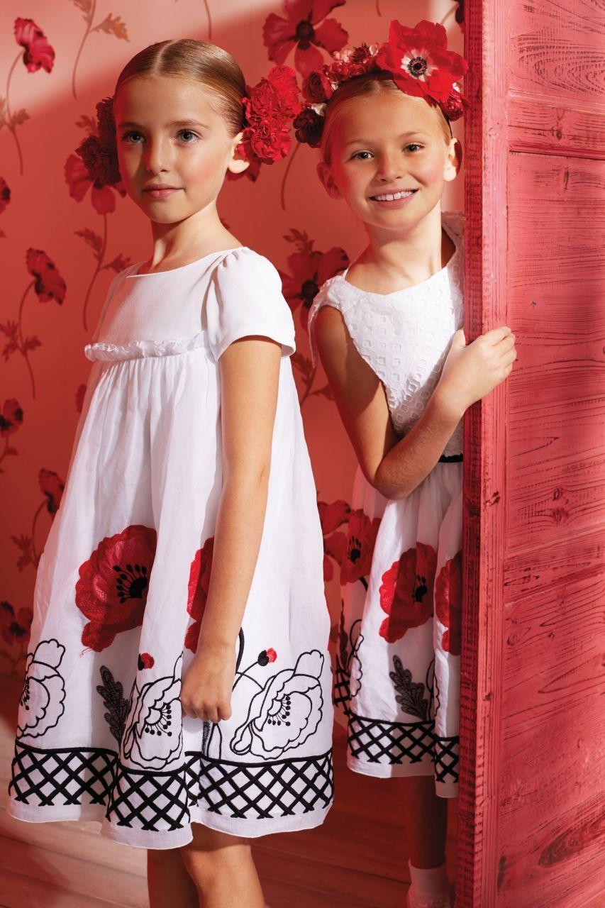 MONNALISA CHIC Spring Summer 2014 Little girl dresses