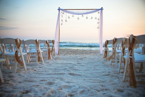 Bamboo Arch Starfish Resort Collection Beach Wedding 2013 Simple And Right To The Point Could