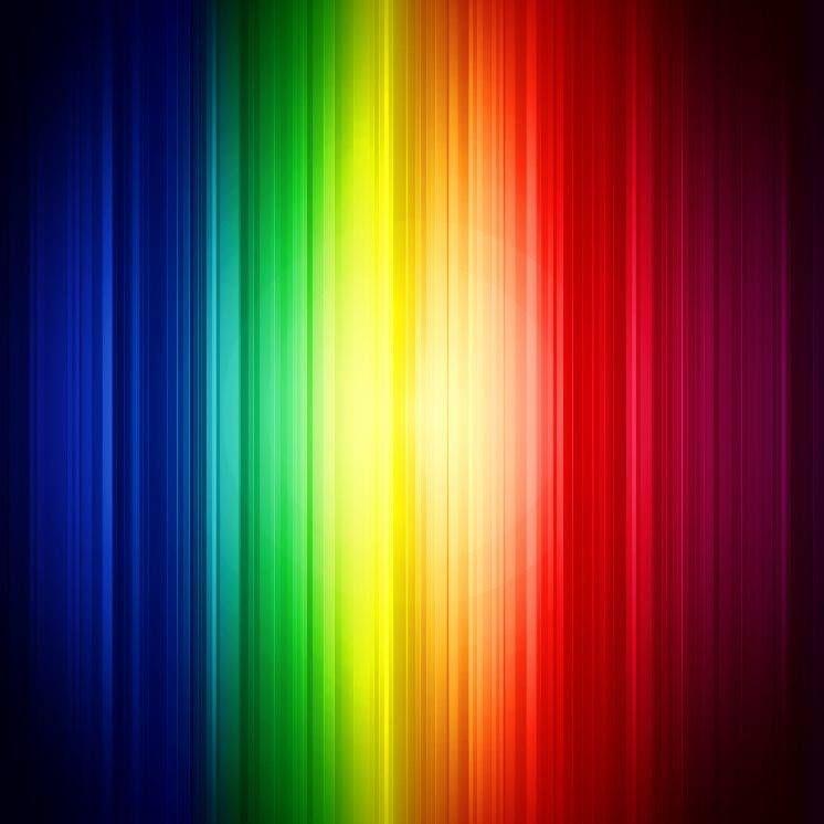 Rainbow Light Bands Rainbow Colours Pinterest